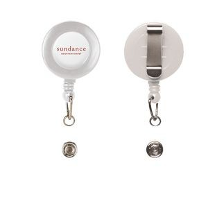 Retractable Badge Reel with Belt Clip