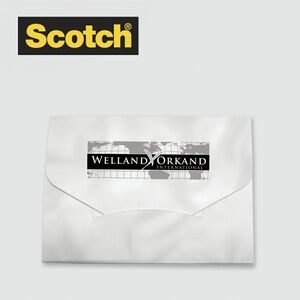 "Scotch® Custom Printed Lint Sheets Pocket Pack (3""x4"")"