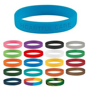 Single Color Silicone Bracelet